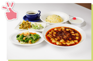 麻婆豆腐ディナーコース
