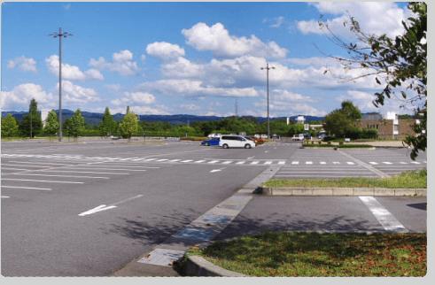 第5駐車場を無料開放